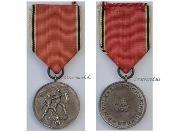 Nazi germany ww2 austrian occupation anschluss 1938 military medal german dracomedals medals - German military decorations ww2 ...