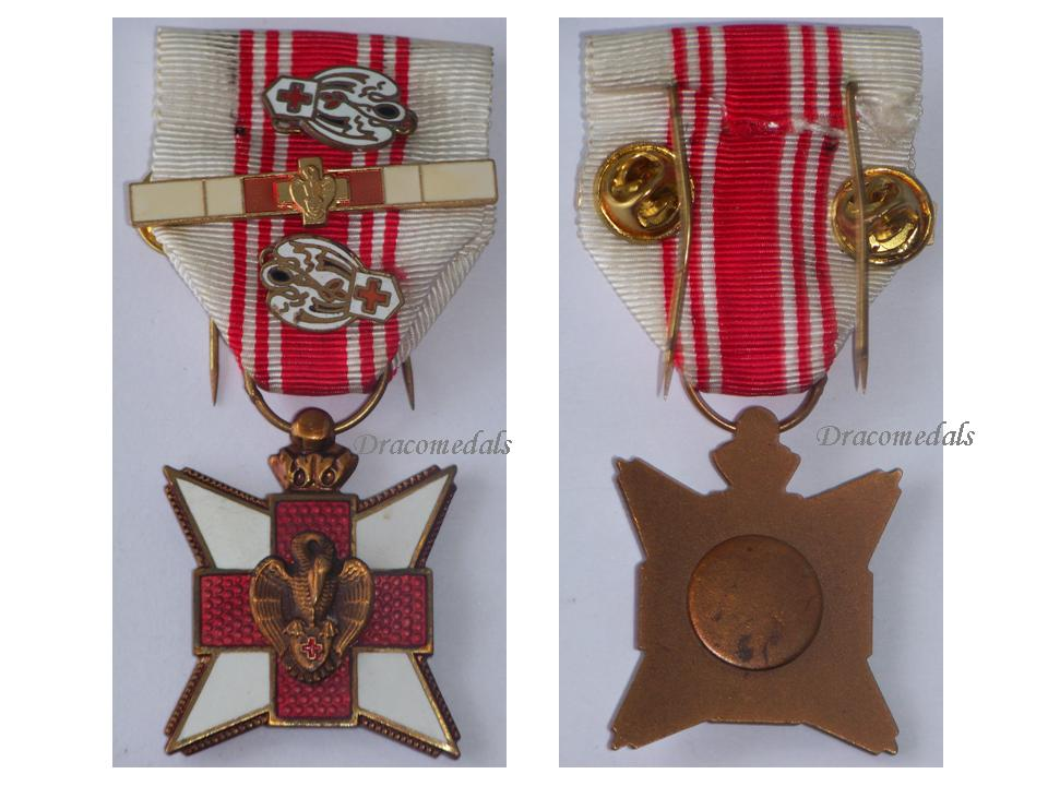 Belgium ww1 red cross blood donation civil medal wwi 1914 for Award decoration